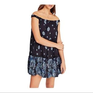 Free People Talk To Me Trapeze Dress NEW